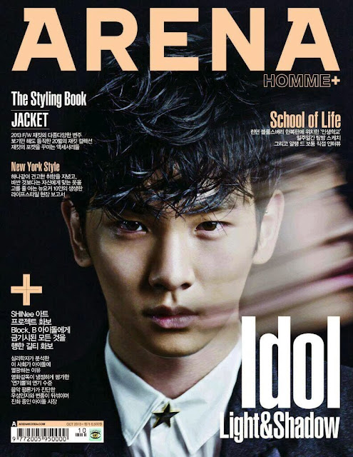 shinee key arena homme plus cover