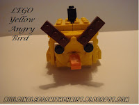 LEGO Angry Yellow Bird Instruction Video, You Can Built it