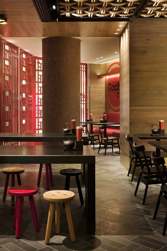 gochi restaurant design ideas by mim design