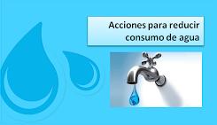 Reducir consumo de agua