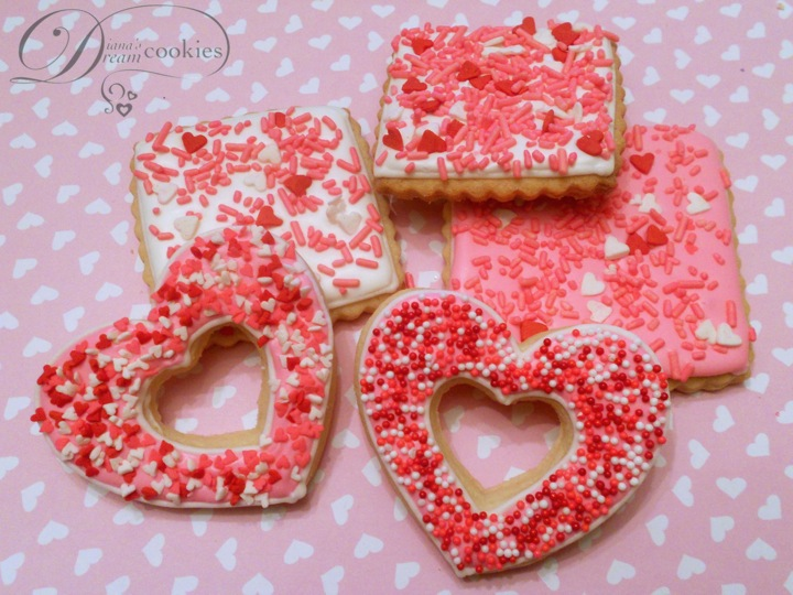 had fun making cookies for this holiday with some Valentine's themed ...