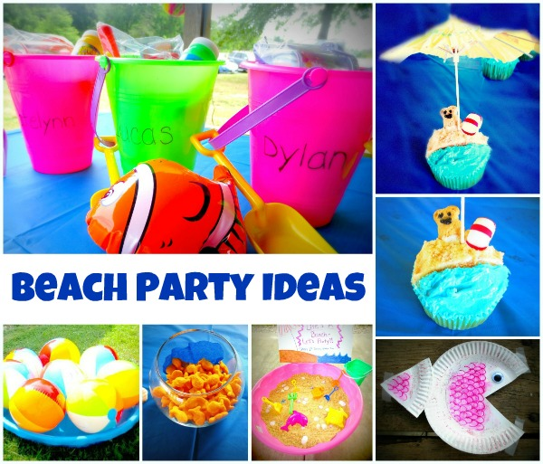 Beach Themed Party Ideas