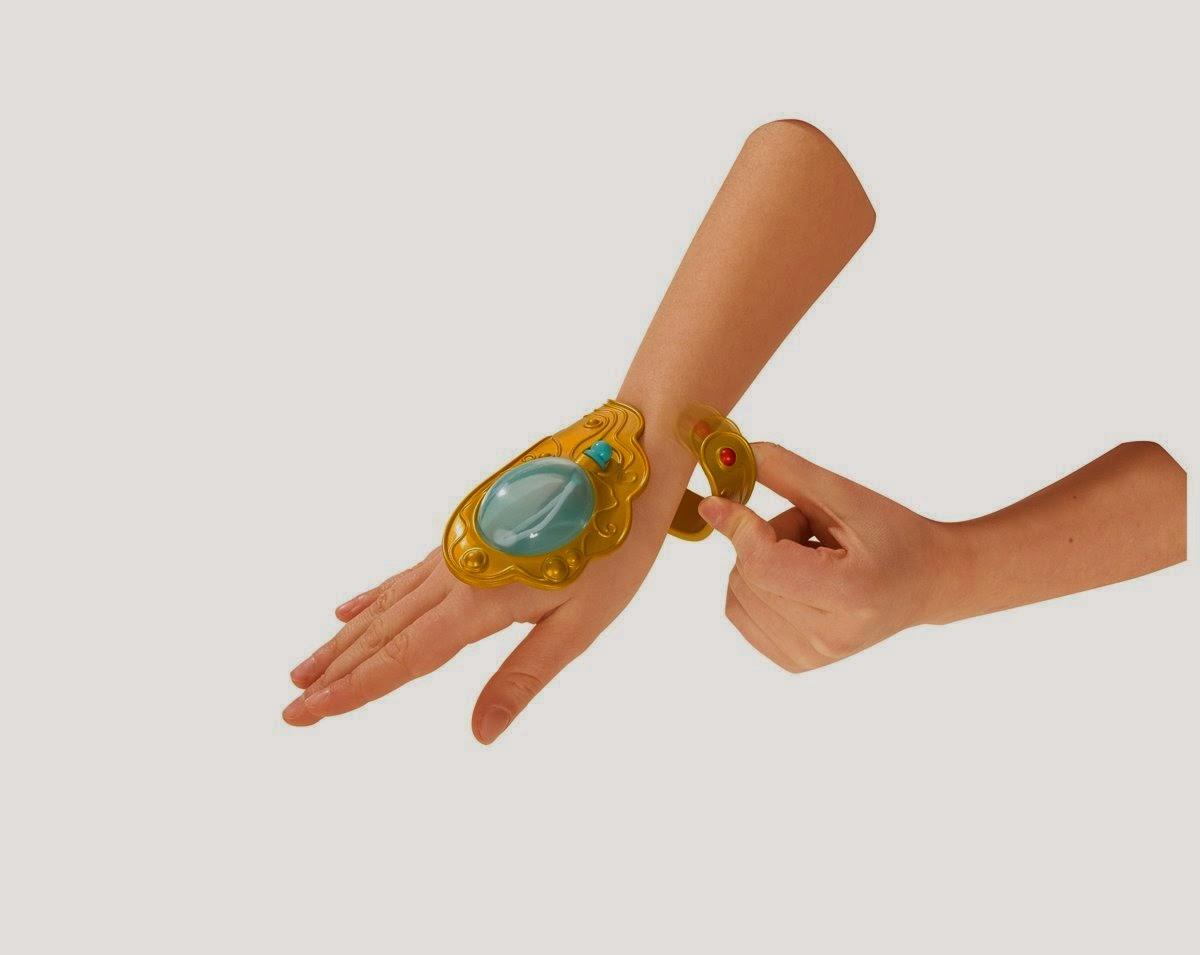 TOYS - Brazalete pompas de jabón : Mia and Me  Juguete Oficial | Simba 109487448 Bubble Bracelet | A partir de 3 años