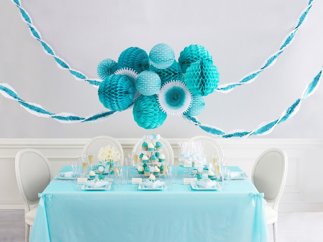 Martha Celebrations for JCPenny aqua table
