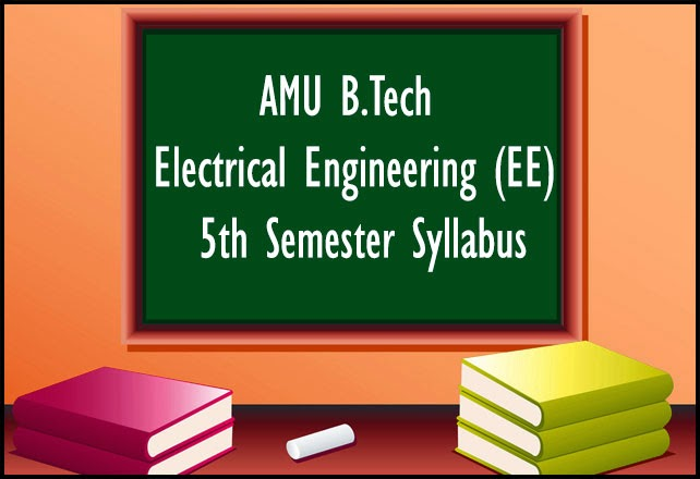 amu-btech-ee-5th-sem-syllabus
