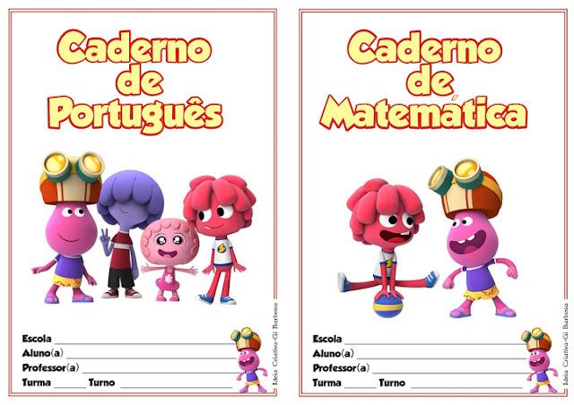 Capas de Caderno Jelly Jam
