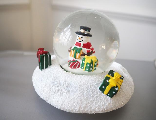 Yankee Candle Snowman Snow Globe | Katie Kirk Loves