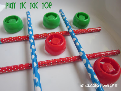 Games and Activities for Kids with Lids from The Educators' Spin On It