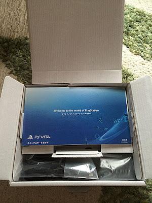 PS Vita白箱開封
