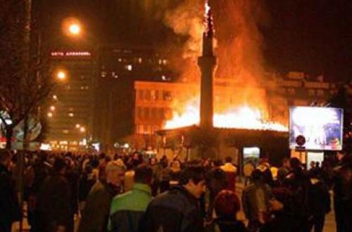 Turki Kutuk Pembakaran Masjid di Siprus