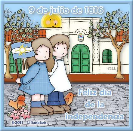 Liliana lois dise os 9 de julio dia de la independencia for Comedor 9 de julio