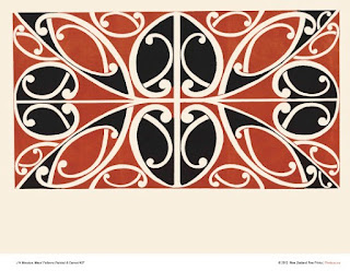 "Maori Art Design Prints from Menzies ""Maori Patterns"" released"