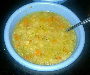 The Dairy-Free Diva: Chicken & Rice Soup with Tex-Mex Flavors