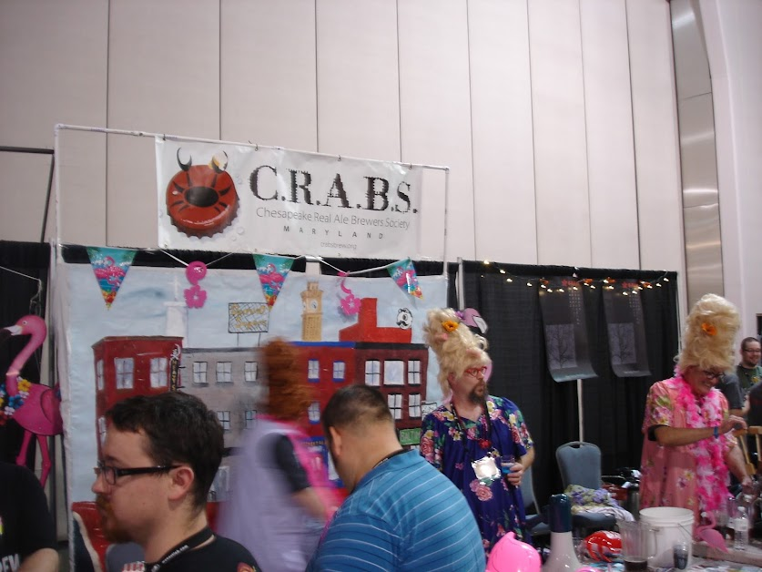C.R.A.B.S. Booth