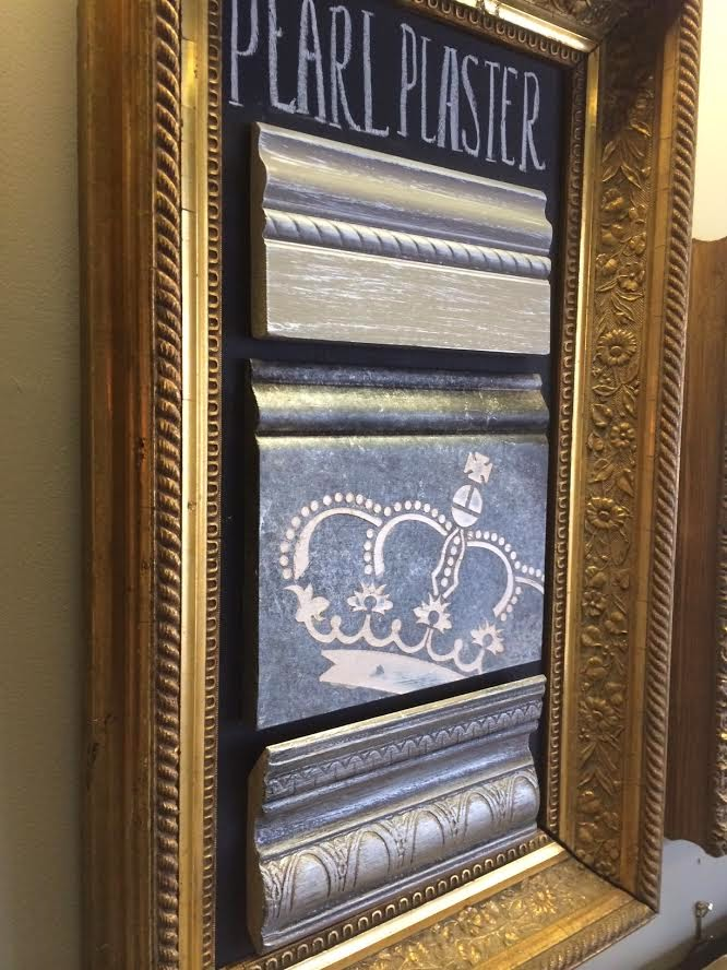 Maison Decor: Our Inspiration Wall: Chalk Art and Gilded Frames