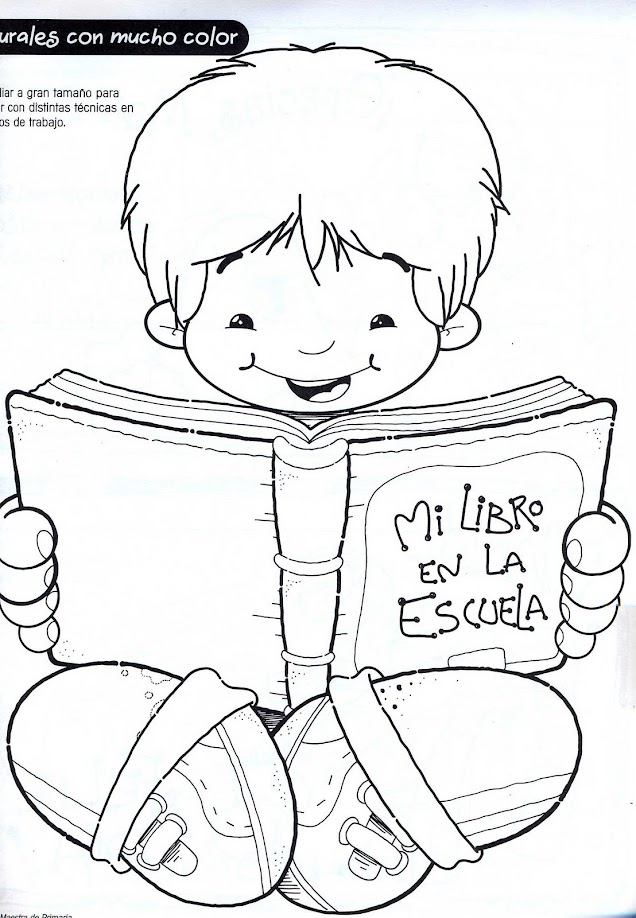 ESOS LOCOS BAJITOS DE INFANTIL: FICHAS PARA DIA DEL LIBRO