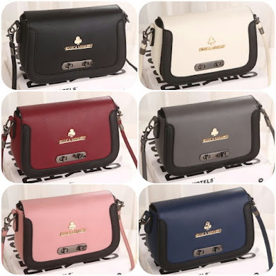 JESSICA MINKOFF BAG - BLACK , CREAM , DUSTY PINK , GREY , NAVY BLUE , RED