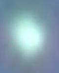 metallic UFO