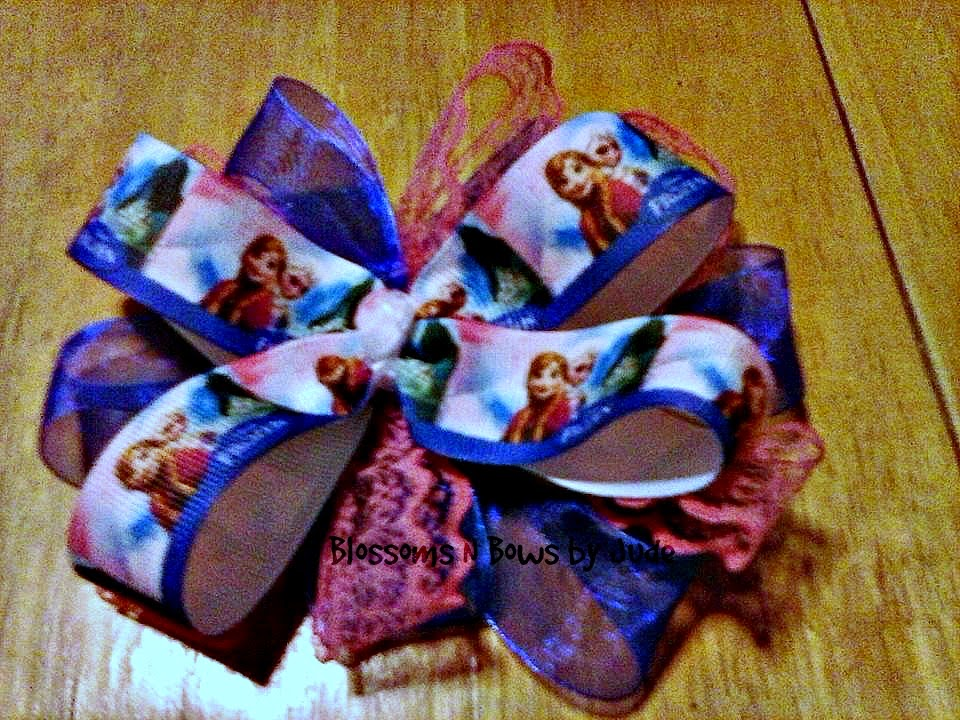 http://www.ebay.com/itm/Frozen-Anna-Elsa-Hair-Bow-U-choose-headband-color-alligator-clip-/151274835892?pt=US_Girls_Accessories&hash=item2338aecfb4