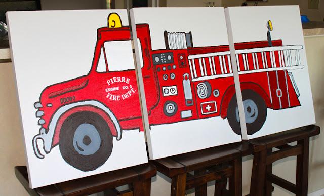 Fire truck themed bedroom ideas lucky boy ask home design for Fire truck bedroom ideas