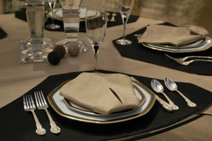 Placemats for a Round Table by Dining in the Round