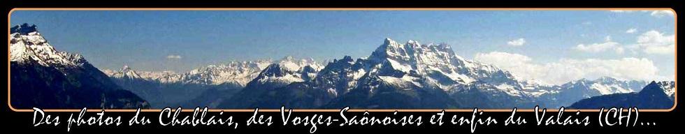 ➽ Des photos du Chablais, des Vosges saônoises et ses mille étangs et du  Valais  par Blogmontagne