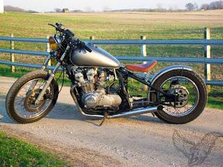 1981 honda cb750 custom bobber