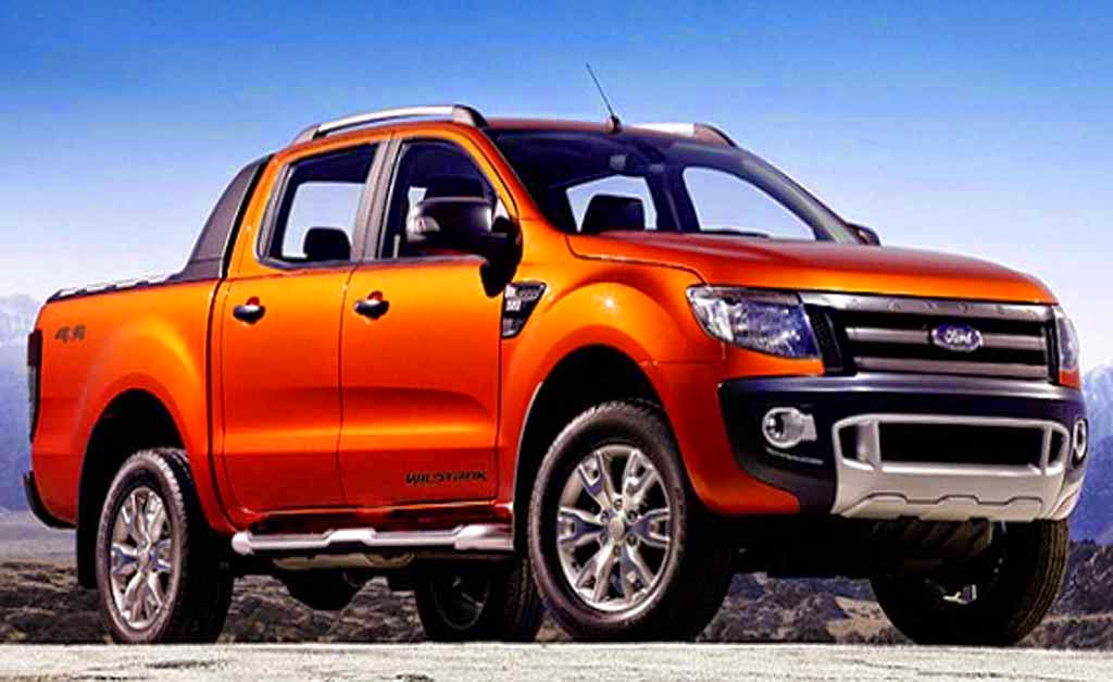 The New Ford Ranger  2015