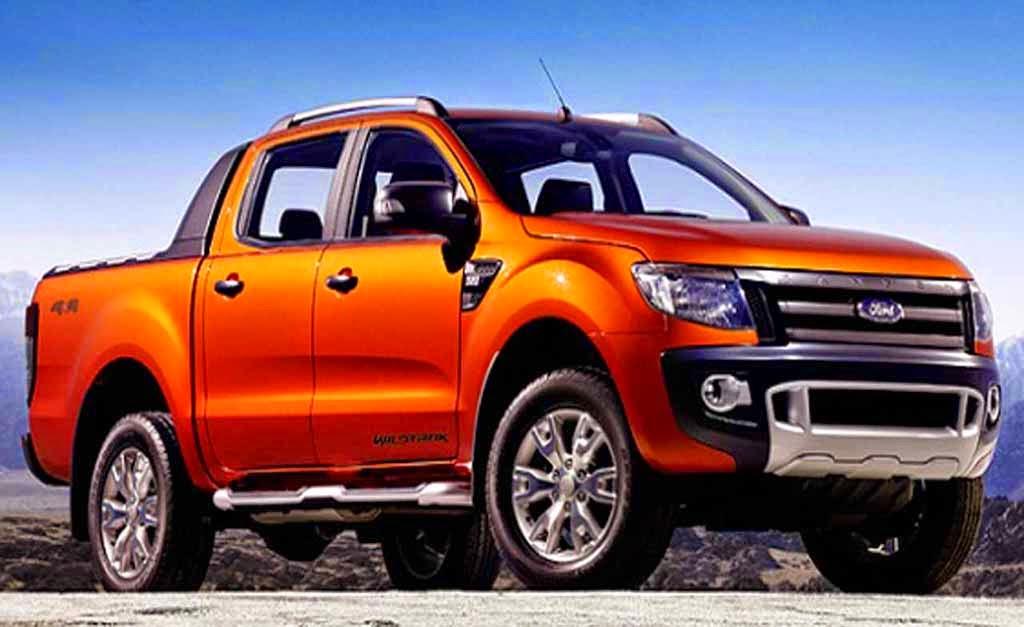 The New Ford Ranger  2015