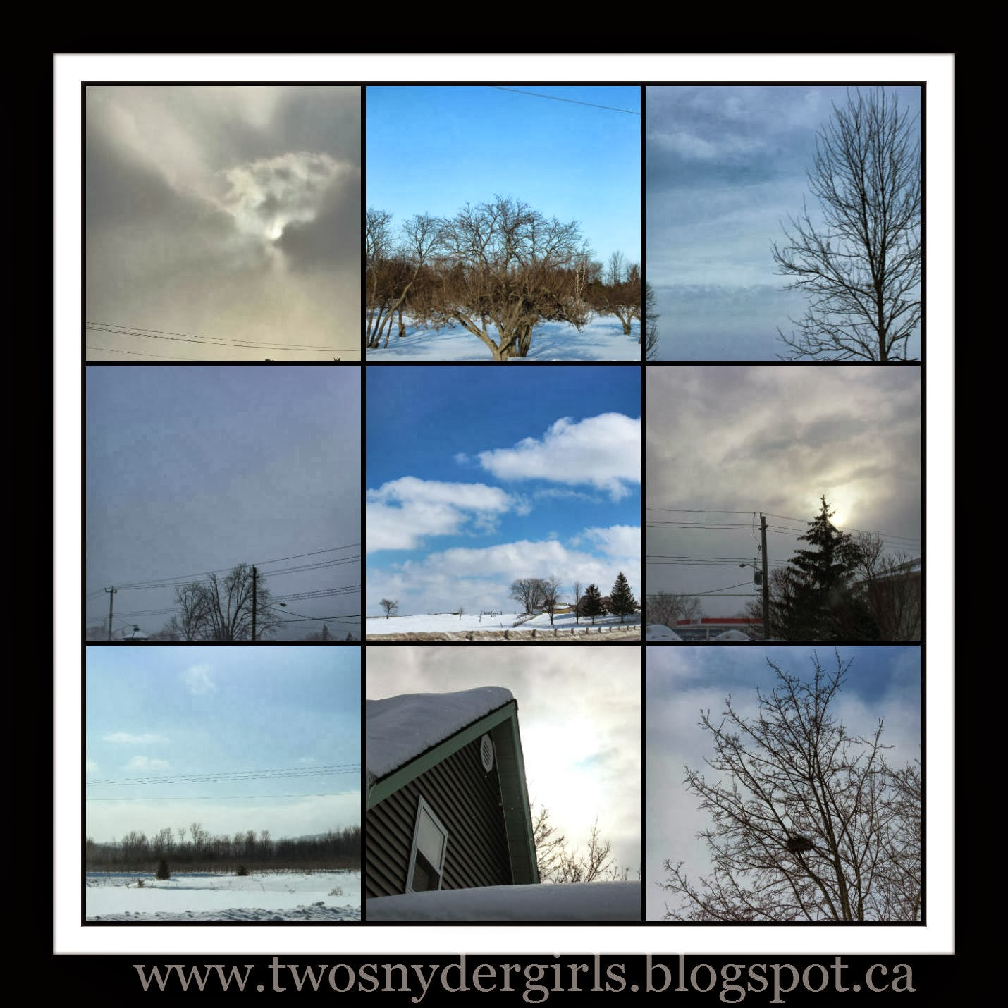 Samples of the February 2014 Sky