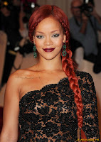 Rihanna Alexander McQueen: Savage Beauty' Costume Institute Gala at The Metropolitan Museum of Art
