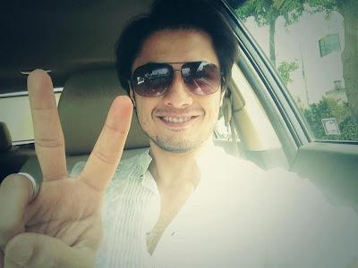 Ali Zafar - Pakistan Celebrities voted for Pakistan