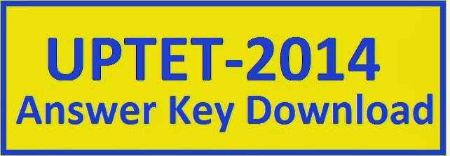 UPTET 2014 Revised Answer Key