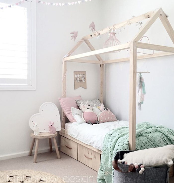 Rafa kids house bed for kids trend for Diy poster bed