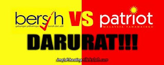 bersih vs patriot
