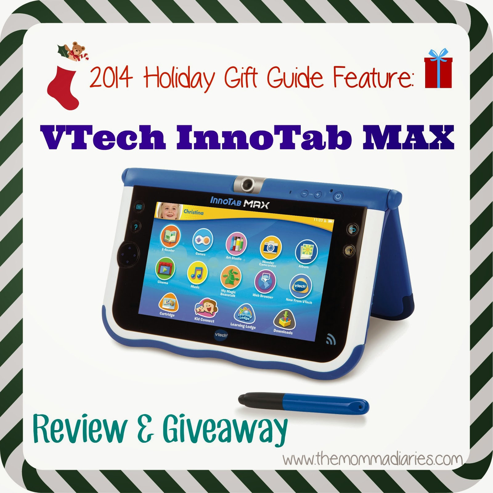 VTech InnoTab MAX Review and Giveaway #Holidaygiftguide
