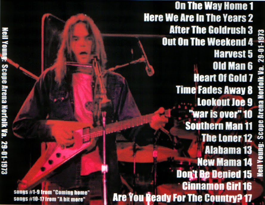 PLUMDUSTY'S PAGE: Neil Young 1973-01-29 Scope Arena ...
