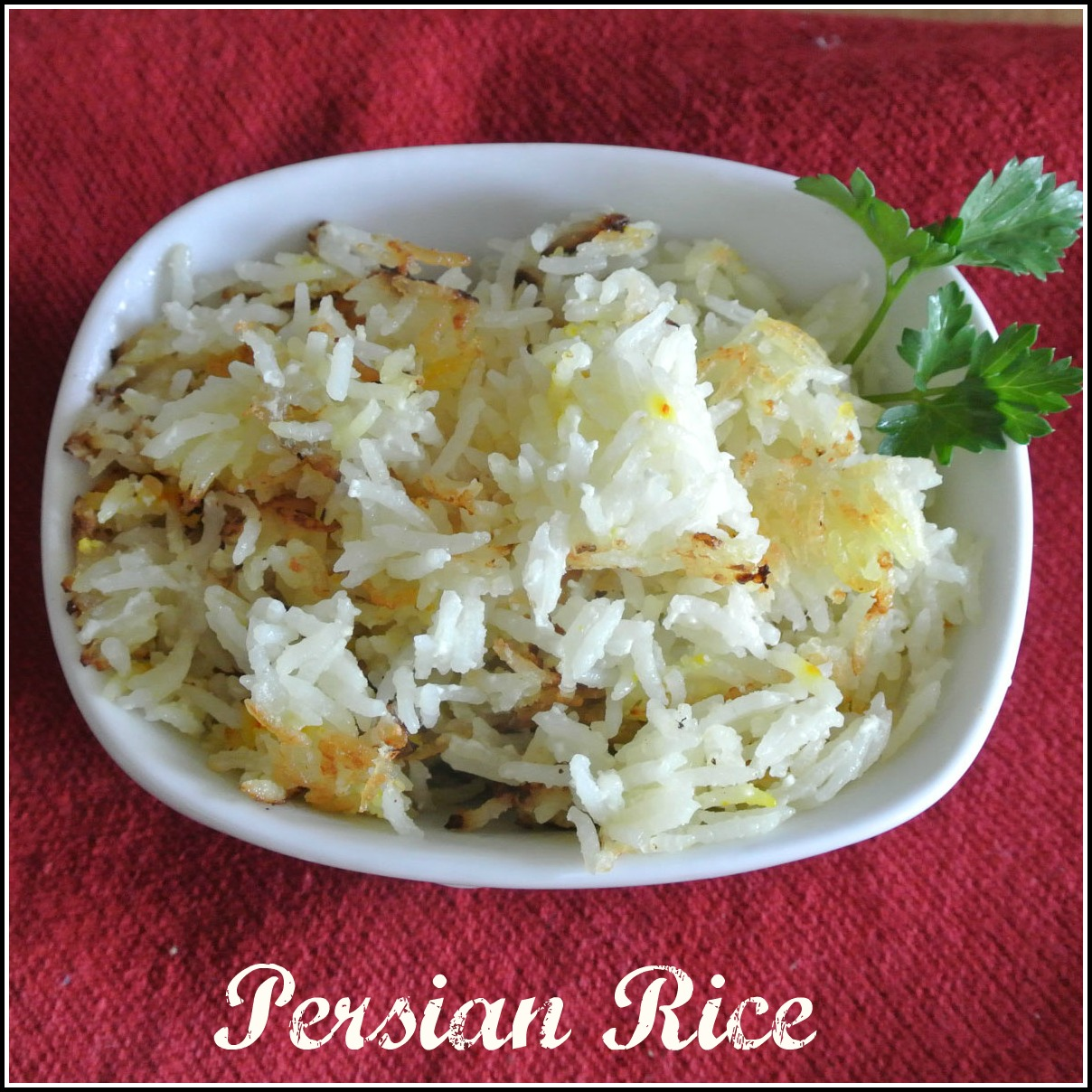 Mom, What's For Dinner?: Persian Rice