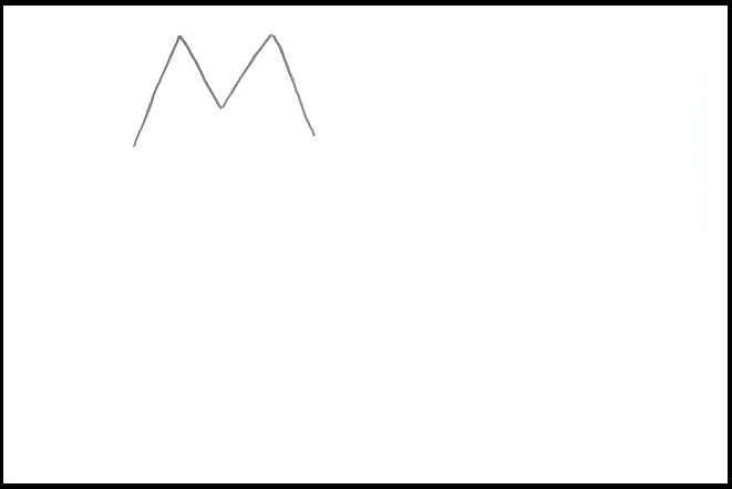 My Child Eva Full Of Life Learn To Draw Mouse With Letter M