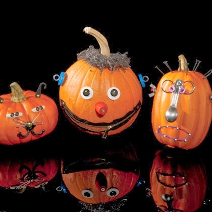 D co fait main comment d corer les citrouilles d - Comment decorer pour halloween ...