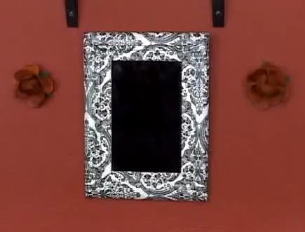 Reciclaje de marcos de cuadros y espejos - Como hacer un marco para un cuadro ...