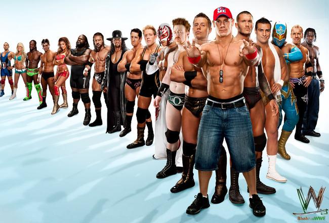 2012 WWE Wrestling StarsAll Wwe Wrestlers 2013