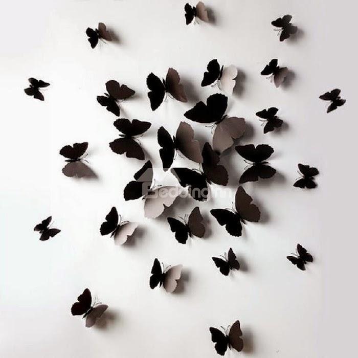 farfalle da muro