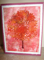 Full Fall Tree Card with
