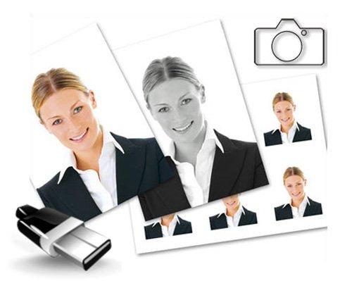 Снимки в фотосалоне