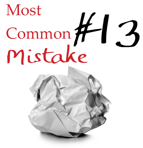 common essay mistakes Common ielts mistakes: task response using personal examples when writing your academic essay, you will want to back up your idea with an example, but too often, i see students giving a personal example.