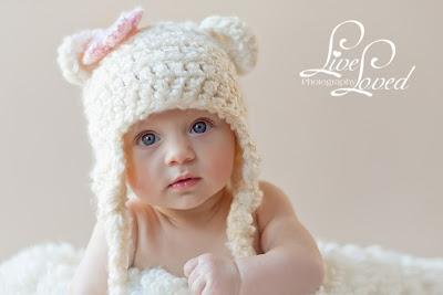 Bebek örgü bere modeli