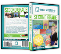 Home Art Studio: Second Gradee