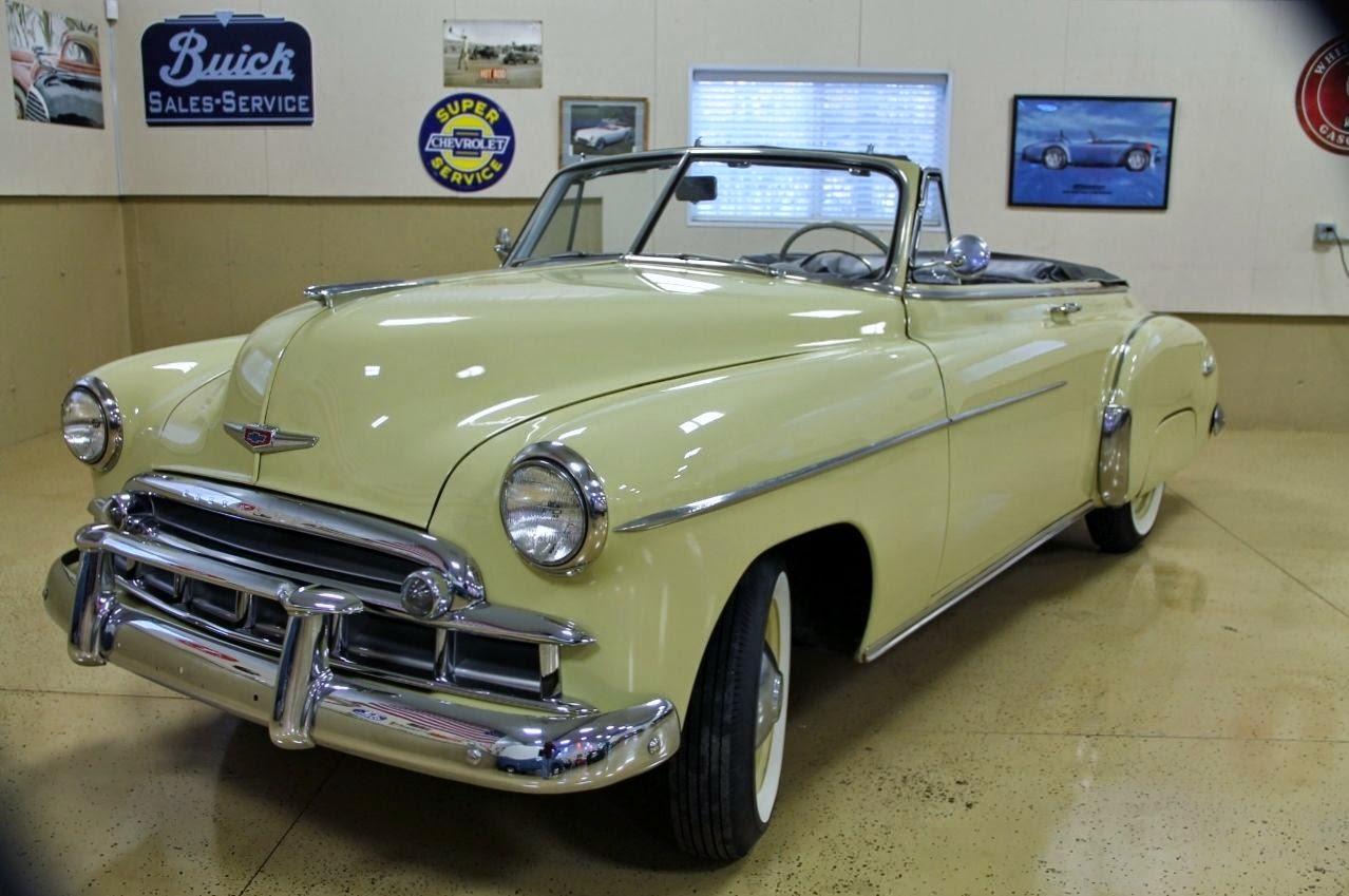 All American Classic Cars 1949 Chevrolet Deluxe Styleline 2 Door Ford Hardtop Convertible
