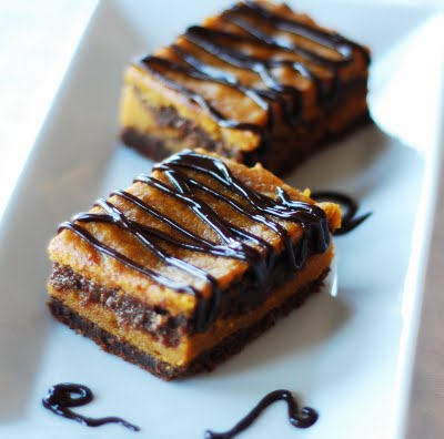 Be Different...Act Normal: Pumpkin Swirl Brownies